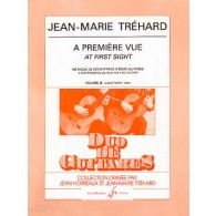 TREHARD J.M. A PREMIERE VUE VOL 2 GUITARES