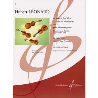 LEONARD H. SOLO OP 41 EN RE MINEUR VIOLON