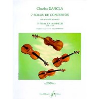 DANCLA C. 3ME SOLO DE CONCERTO OP 77 N°3 VIOLON