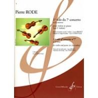 RODE P. 1ER SOLO DU 7ME CONCERTO VIOLON