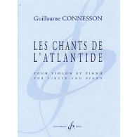 CONNESSON G. CHANTS DE L'ATLANTIDE VIOLON