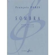 PARIS F. SOMBRA VIOLON SOLO