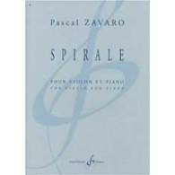 ZAVARO P. SPIRALE VIOLON SOLO