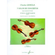 DANCLA C. 5ME SOLO DE CONCERTO OP 94 N°5 VIOLON