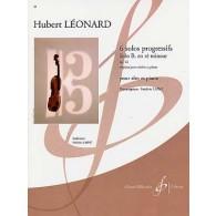 LEONARD H. SOLOS PROGRESSIFS OP 62: SOLO B EN RE MINEUR ALTO