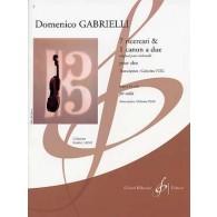 GABRIELLI D. 7 RICERCARI ET 1 CANON ALTO