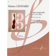 LEONARD H. SOLOS PROGRESSIFS OP 62: SOLO D  EN DO  MAJEUR ALTO