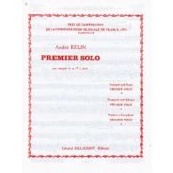RELIN A. PREMIER SOLO TROMPETTE