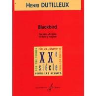 DUTILLEUX H. BLACKBIRD PIANO