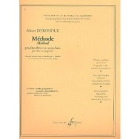 SELLNER J./DEBONDUE A. METHODE VOL 3 ETUDES HAUTBOIS/SAXO