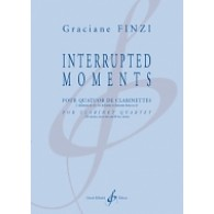 FINZI G. INTERRUPTED MOMENTS CLARINETTES