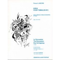 LABORIE P. PIECE POUR TIMBALES N°2