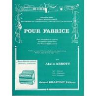 ABBOTT A. POUR FABRICE ACCORDEON