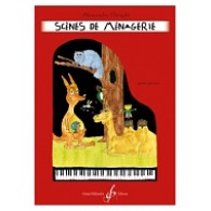 FLENGHI A. SCENES DE MENAGERIE PIANO
