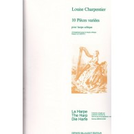 CHARPENTIER M.A. PIECES VARIEES HARPE