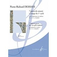 DESHAYS P.R. PIECES DE CONCERT EUPHONIUM