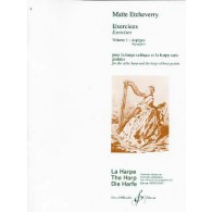 ETCHEVERRY M. EXERCICES: ARPEGES VOL 1 HARPE
