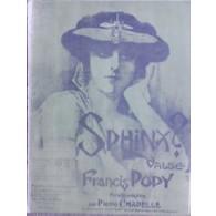 POPY F. SPHINX VIOLON