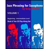 FISHMAN G. JAZZ PHRASING FOR SAXOPHONE VOL 1
