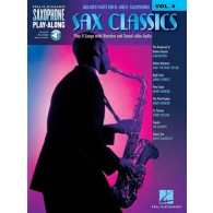 SAXOPHONE PLAY ALONG VOL 4 SAX CLASSICS SAXO EB BB