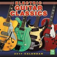 ELECTRIC GUITAR CLASSICS 2017 CALENDRIER