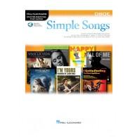 SIMPLE SONGS HAUTBOIS