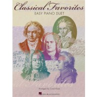 CLASSICAL FAVORITES PIANO 4 MAINS