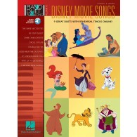 DISNEY MOVIE SONGS FOR PIANO DUET PLAY-ALONG VOL 12