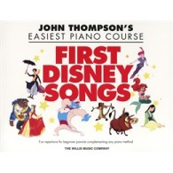 THOMPSON'S J. FIRST DISNEY SONGS PIANO