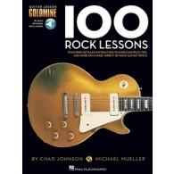 100 ROCK LESSONS GUITARE