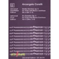 CORELLI A. SONATA OP 5 VOL 2 FLUTE