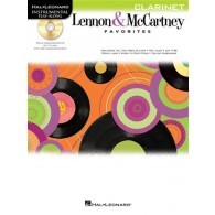 PLAY-ALONG: LENNON  & MC CARTNEY FAVORITES CLARINETTE