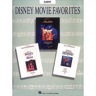 DISNEY MOVIE FAVORITES FOR CLARINET