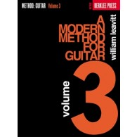 BERKLEE/LEAVITT METHODE MODERNE DE GUITARE VOL 3