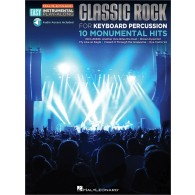 EASY INSTRUMENTAL PLAY-ALONG: CLASSIC ROCK PERCUSSIONS A CLAVIERS