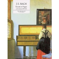 BACH J.S. TOCCATA ET FUGUE RE MINEUR PIANO
