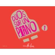 SALADIN DE NUGLAR M.J./SURANYI B. DUOS SUR UN PIANO VOL 1 PIANO 4 MAINS