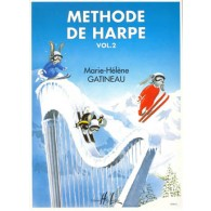 GATINEAU M.H. METHODE DE HARPE VOL 2