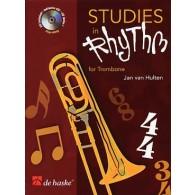 VAN HULTEN J. STUDIES IN RHYTHM TROMBONE