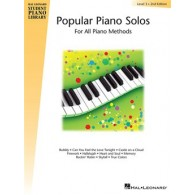 HAL LEONARD POPULAR SOLOS LEVEL 3 PIANO
