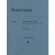 SMETANA D. AUS MEINEM LEBEN QUARTETTE N°1 QUATUOR A CORDES