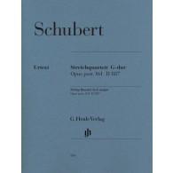 SCHUBERT F. QUATUOR A CORDES OP 161
