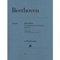 BEETHOVEN L. DUOS WoO 27 CLARINETTE ET BASSON