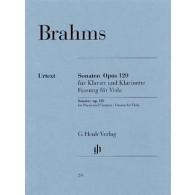 BRAHMS J. SONATES N°1 ET 2 OP 120 ALTO