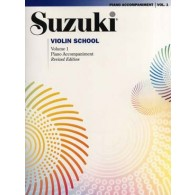 SUZUKI VIOLIN SCHOOL VOL 1 ACCOMPAGNEMENT PIANO