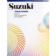 SUZUKI VIOLIN SCHOOL VOL 3 ACCOMPAGNEMENT PIANO