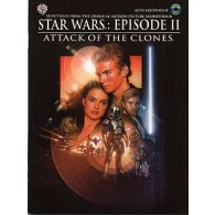 STAR WARS EPISODES II  ATTACK OF THE  CLONES ALTO SAXO