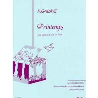 GABAYE P. PRINTEMPS SAXO MIB