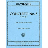 DEVIENNE F. CONCERTO N°2 FLUTE
