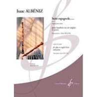 ALBENIZ I. SUITE ESPAGNOLE OP 47 HAUTBOIS